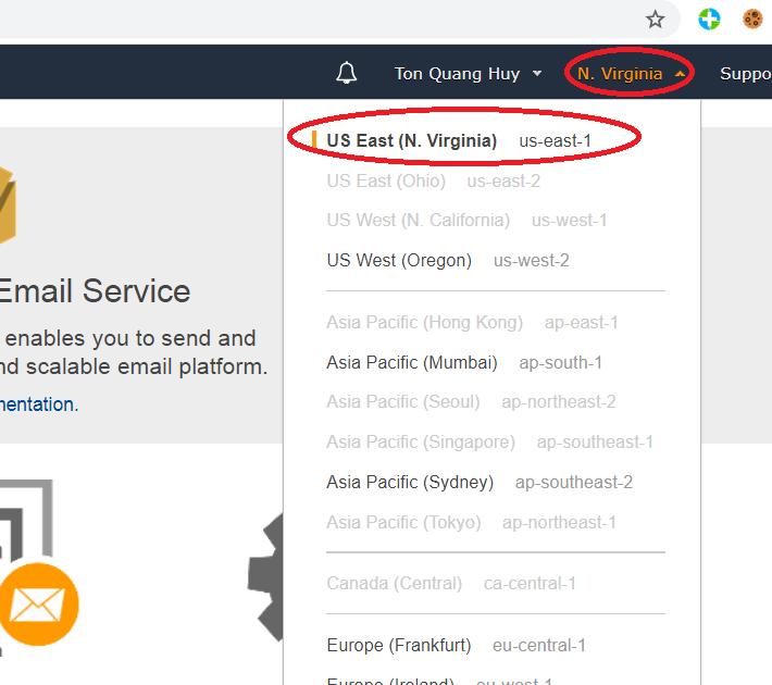 Hướng dẫn tăng hạn mức gửi mail AmazonSES